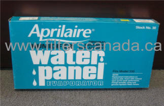 aprilaire humidifier filter water panel 30